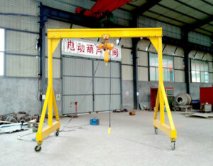 Portable 3 Ton Gantry Crane Price