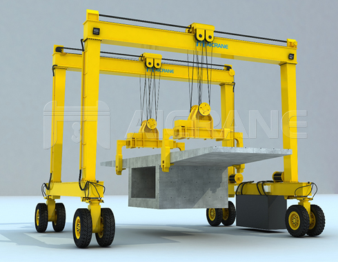 Rubber Tyred Gantry Crane for Construction