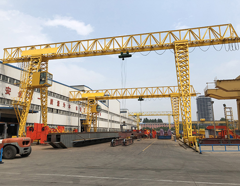 Single Girder Truss Gantry Crane Manufacturer